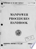 Manpower Procedures Handbook