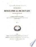 Ibn Khallikan s Biographical Dictionary