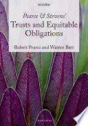 Pearce Stevens Trusts And Equitable Obligations