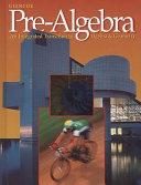 Prealgebra An Integrated Approach [Pdf/ePub] eBook