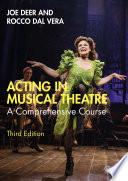 Acting In Musical Theatre PDF