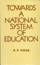 Towards a National System of Education