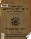 Transactions - Institute of Marine Engineers