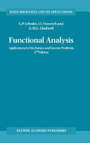 Functional Analysis: Applications in Mechanics and Inverse Problems