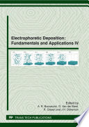 Electrophoretic Deposition  Fundamentals and Applications IV