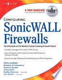 Configuring SonicWALL Firewalls Book