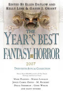 Pdf The Year's Best Fantasy and Horror 2007