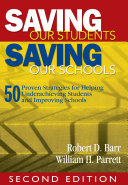 Saving Our Students  Saving Our Schools