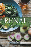 Renal Diet Cookbook for Beginners Book
