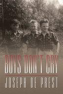 Pdf Boys Don't Cry