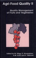 Agri-food Quality II: Quality Management of Fruits and ...