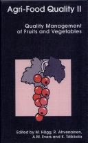 Agri-food Quality II