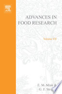 """Advances in Food Research"" by E. M. Mrak, G.F. Stewart"