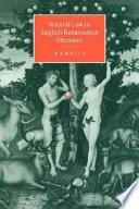 Natural Law In English Renaissance Literature
