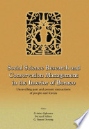 Social Science Research and Conservation Management in the Interior of Borneo