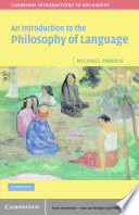 An Introduction To The Philosophy Of Language Book PDF