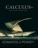 Calculus, Matrix Version