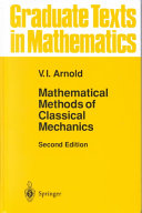 Mathematical Methods of Classical Mechanics Book