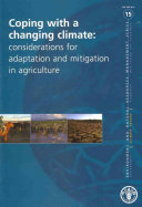 Coping with a Changing Climate Book