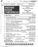 Indian Book Chronicle Pdf/ePub eBook