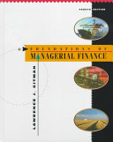 Foundations of Managerial Finance
