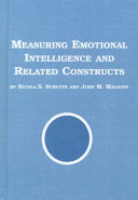 Measuring Emotional Intelligence and Related Constructs