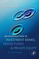An Introduction to Investment Banks, Hedge Funds, and Private Equity Pdf/ePub eBook