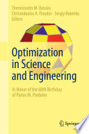 Optimization In Science And Engineering Book PDF