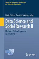 Data Science and Social Research II