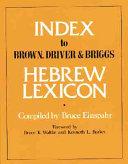 Index to Brown  Driver   Briggs Hebrew Lexicon