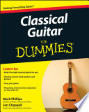 Classical Guitar For Dummies Book