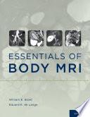 Essentials of Body MRI Book