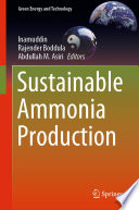 Sustainable Ammonia Production