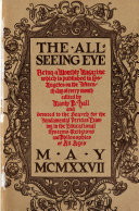 The All Seeing Eye Book