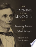 Learning From Lincoln PDF