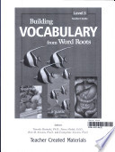 Building Vocabulary Grade 5 Kit Ebook
