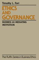 Ethics and Governance