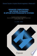 Advanced Computational and Design Techniques in Applied Electromagnetic Systems Book