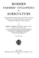 Modern Farmers Cyclopedia Of Agriculture