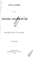 Annual Report of the Major General Commanding the Army to the Secretary of War