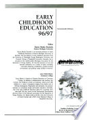 Early Childhood Education  : 1996-1997