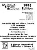 American Export Register Book