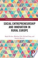 Social Entrepreneurship and Innovation in Rural Europe