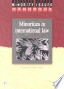 Minorities In International Law