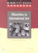 Minorities in International Law Book