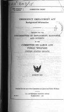 Emergency Employment Act