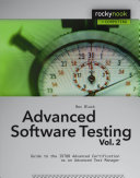 Advanced Software Testing - Vol. 2