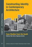 Constructing Identity in Contemporary Architecture