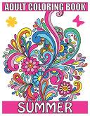 Adult Coloring Book Summer Book PDF