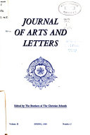 Journal of Arts and Letters